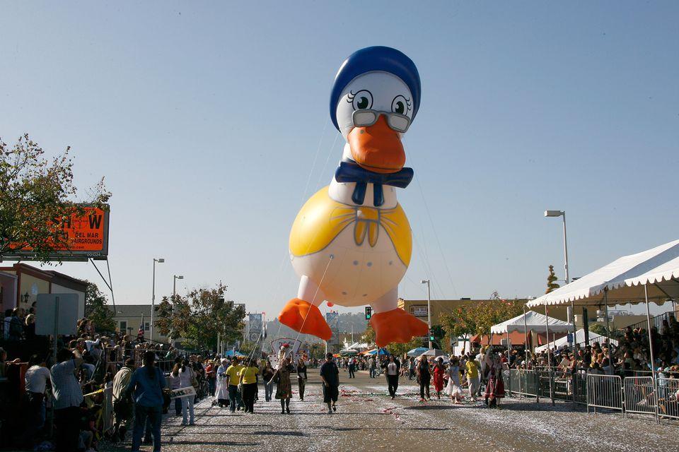 Mother Goose Parade in El Cajon