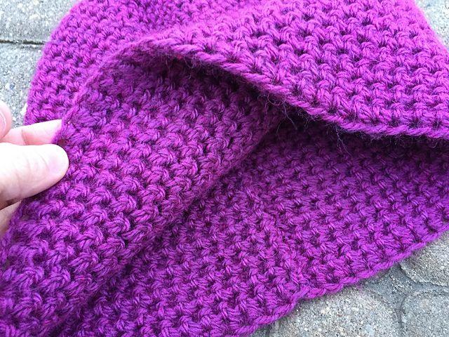 Single Crochet Thermal Stitch Hat