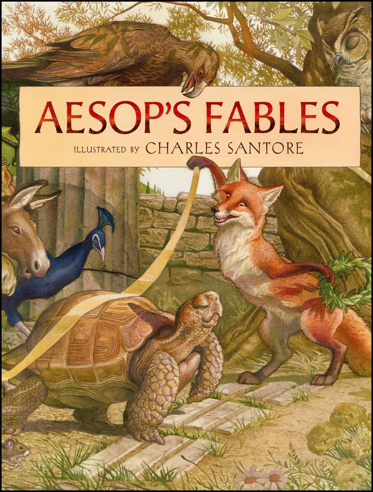 Aesop's Fables - Children's Book Cover