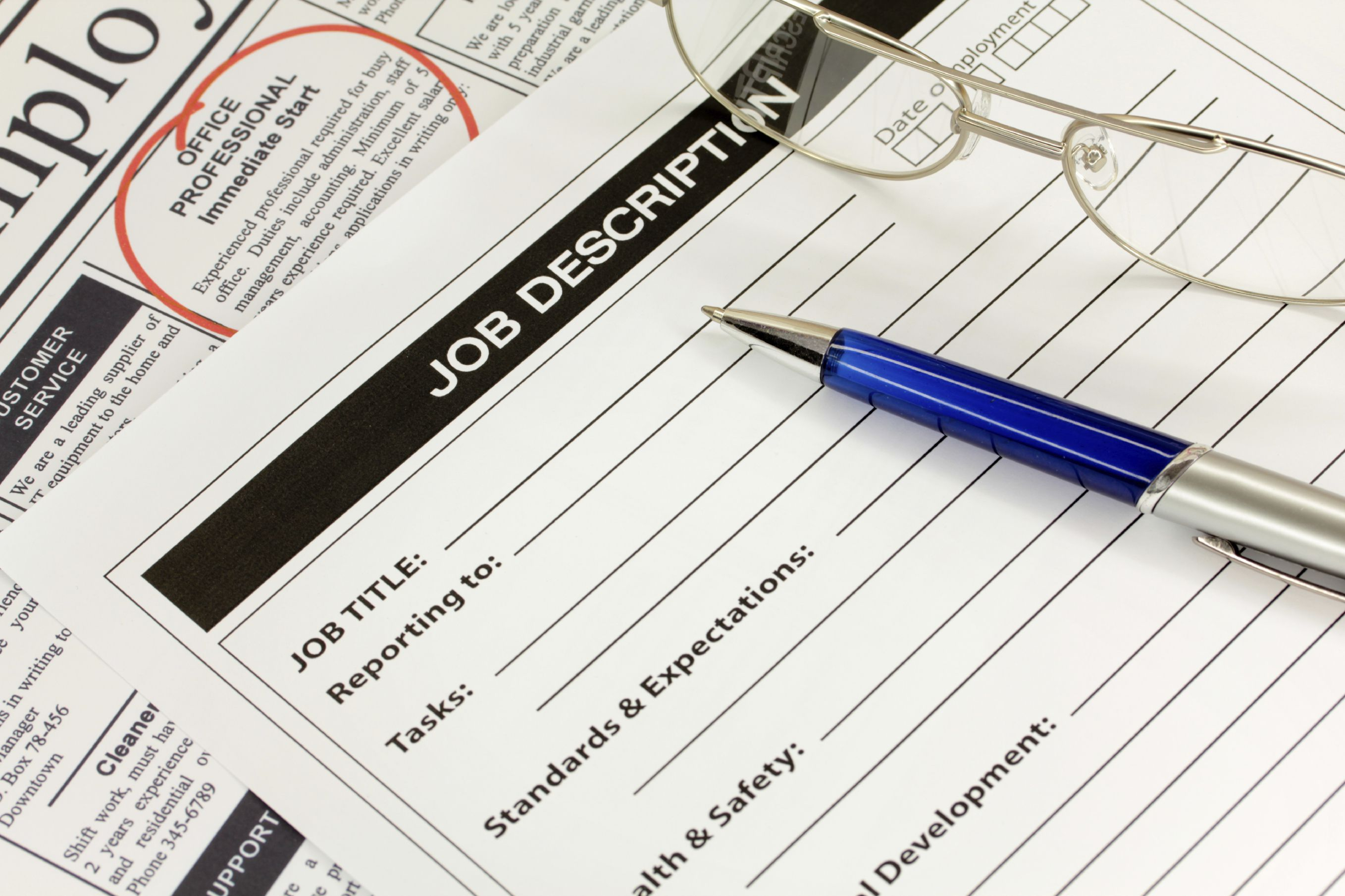 how to write job descriptions for your resume