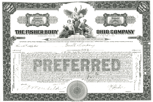 Preferred Stock Certificate