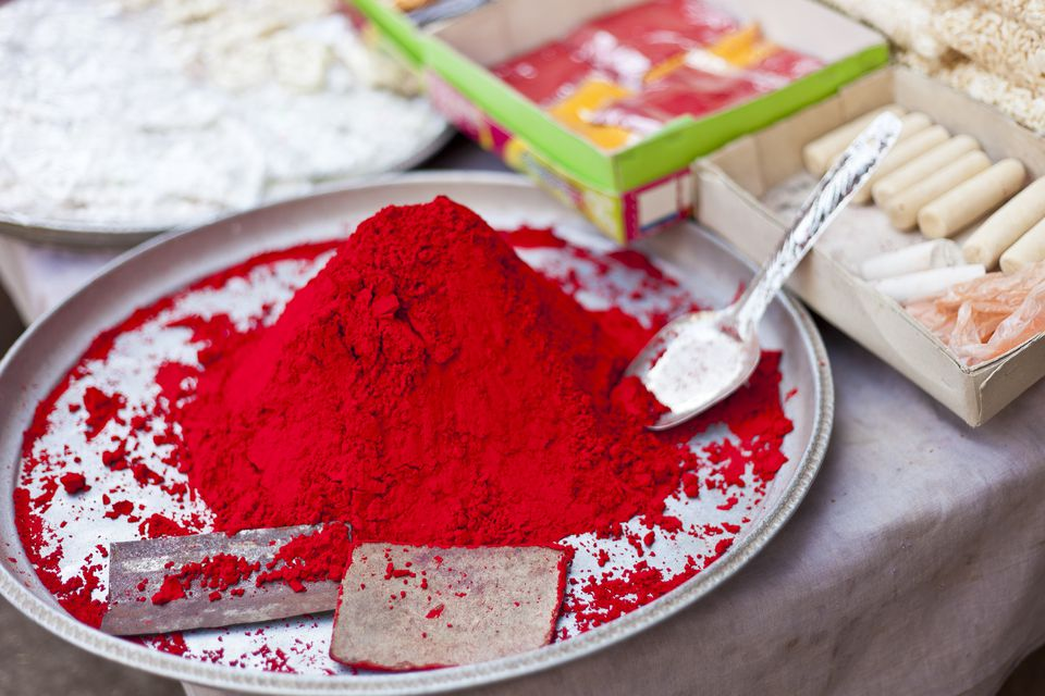 Red Powder In India