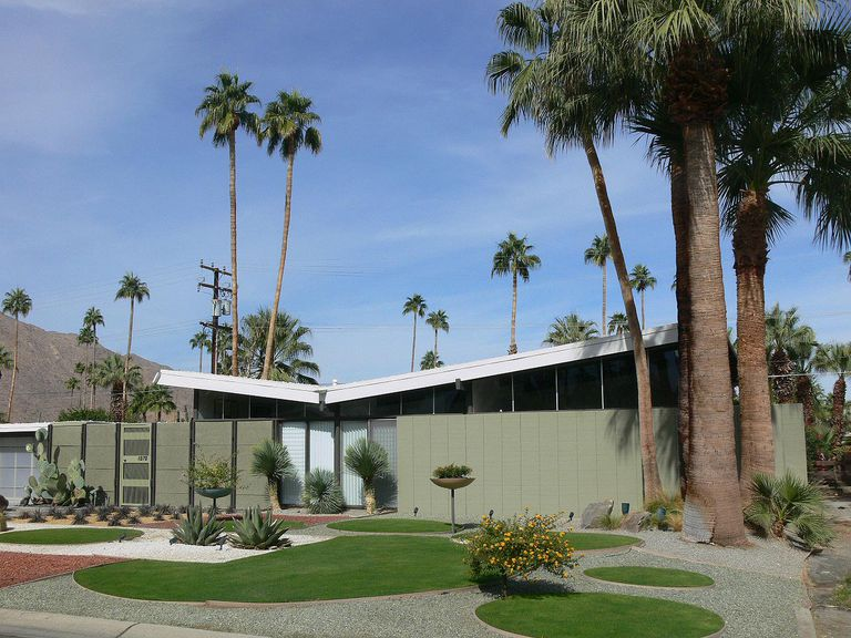 Alexander Home in the Twin Palms Neighborhood, Palm Springs, California