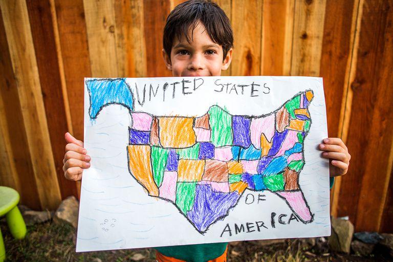 USA child