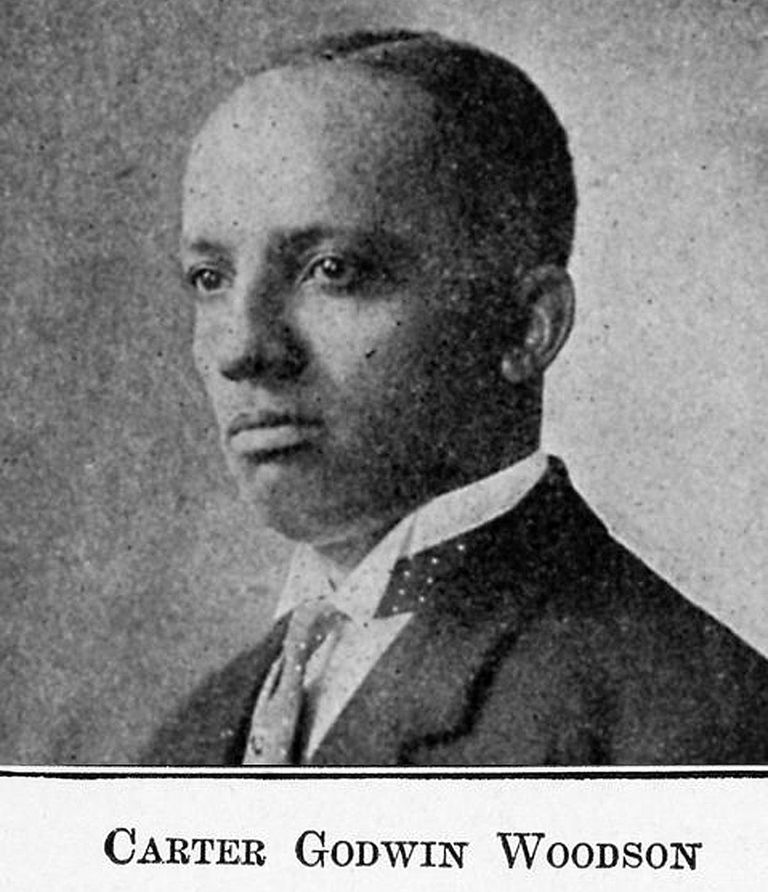 Carter Godwin Woodson.