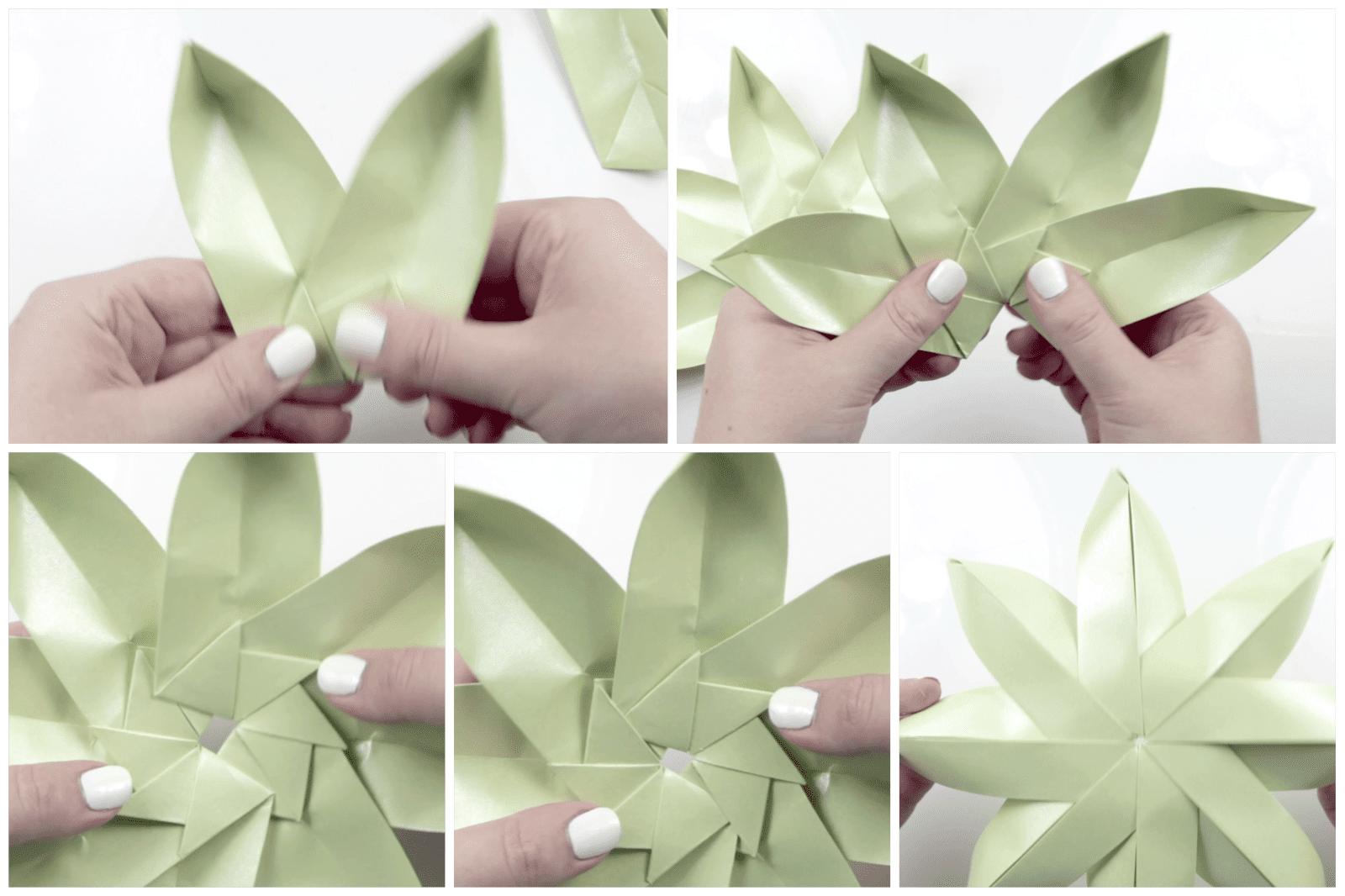 Fold Joss Paper Lotus Flower Romeondinez