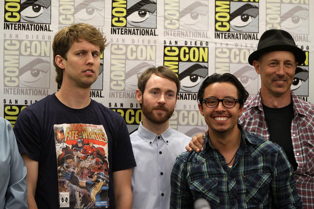 Cast Of The Napoleon Dynamite Film And Television Series At 2011 San Diego Comic