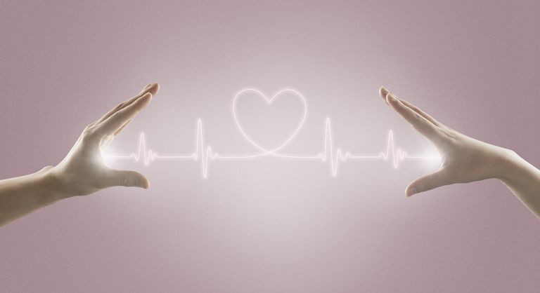 Hands and heart rate line