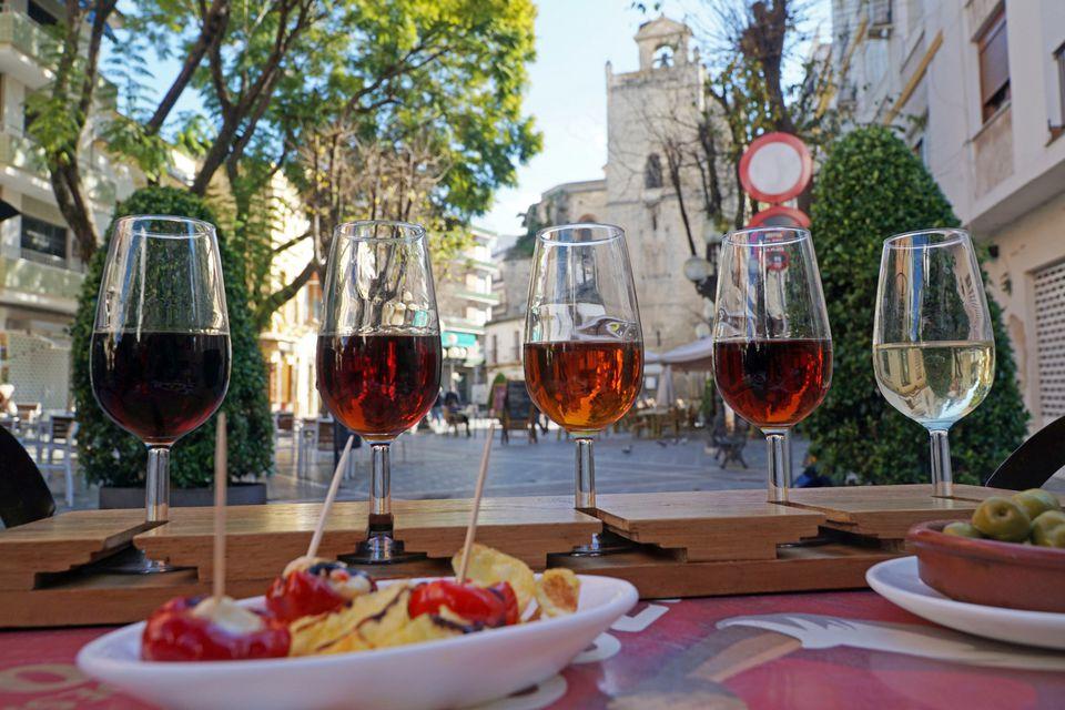 Sherry tasting in Jerez