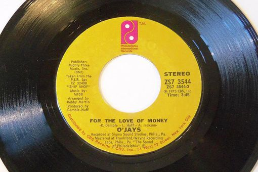 """The O'Jays' """"For the Love of Money"""""""