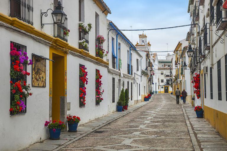 Street in Cordoba, Spain.