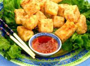 Crunchy Fried Tofu with Thai Sweet Chili Sauce