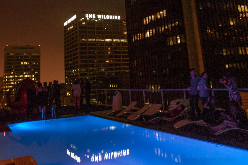 The Rooftop at The Standard in Downtown LA