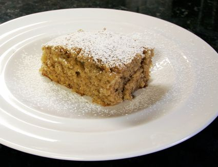Banana Spice Cake With Seafoam Frosting