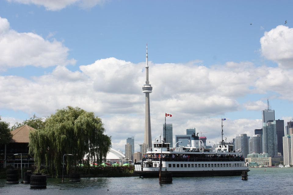 Ferry to the Toronto Islands