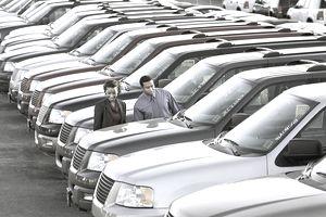 Couple car shopping