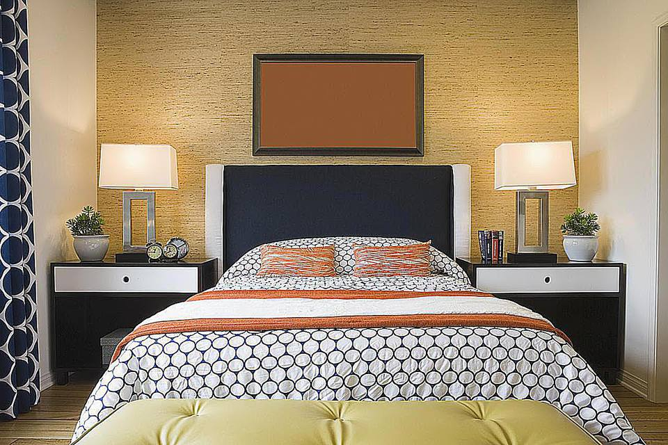 incredible modern bedroom color schemes   Color Compliments in Your Bedroom Schemes