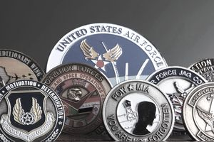 Military coin collection