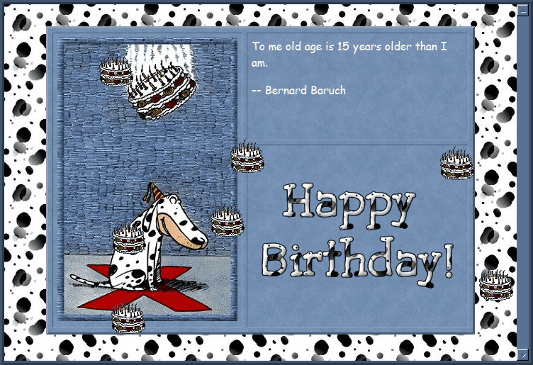 Free Birthday Stationary ~ Most popular free email stationery downloads