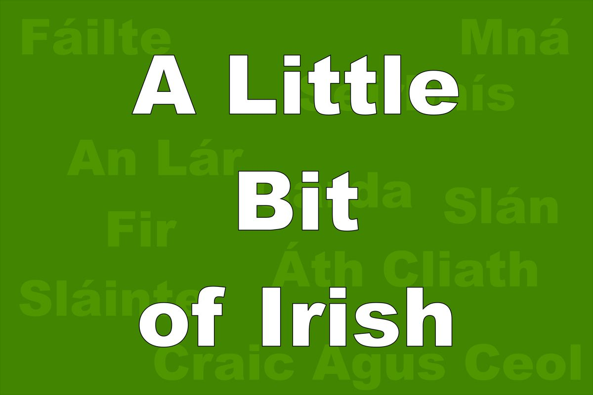 Irish words you should know before traveling kristyandbryce Choice Image