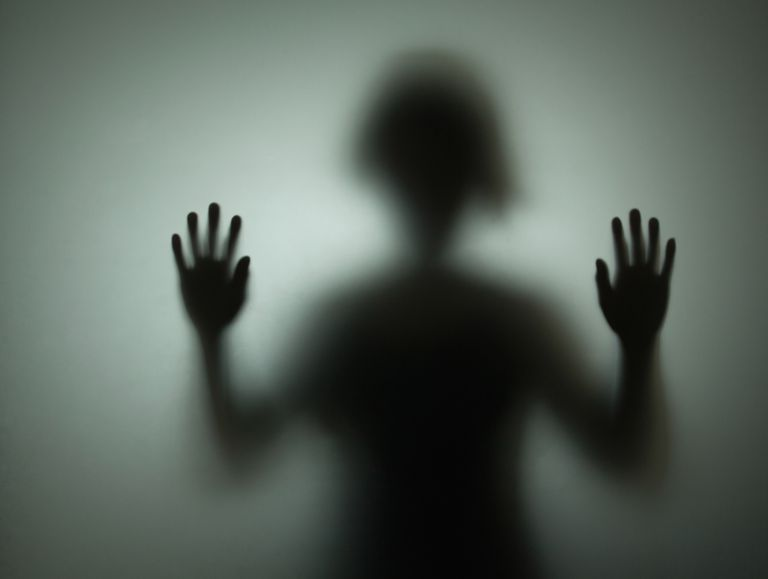 Jesus christ exorcism of a demon possessed boy exorcism silhouette black figure person solutioingenieria Images