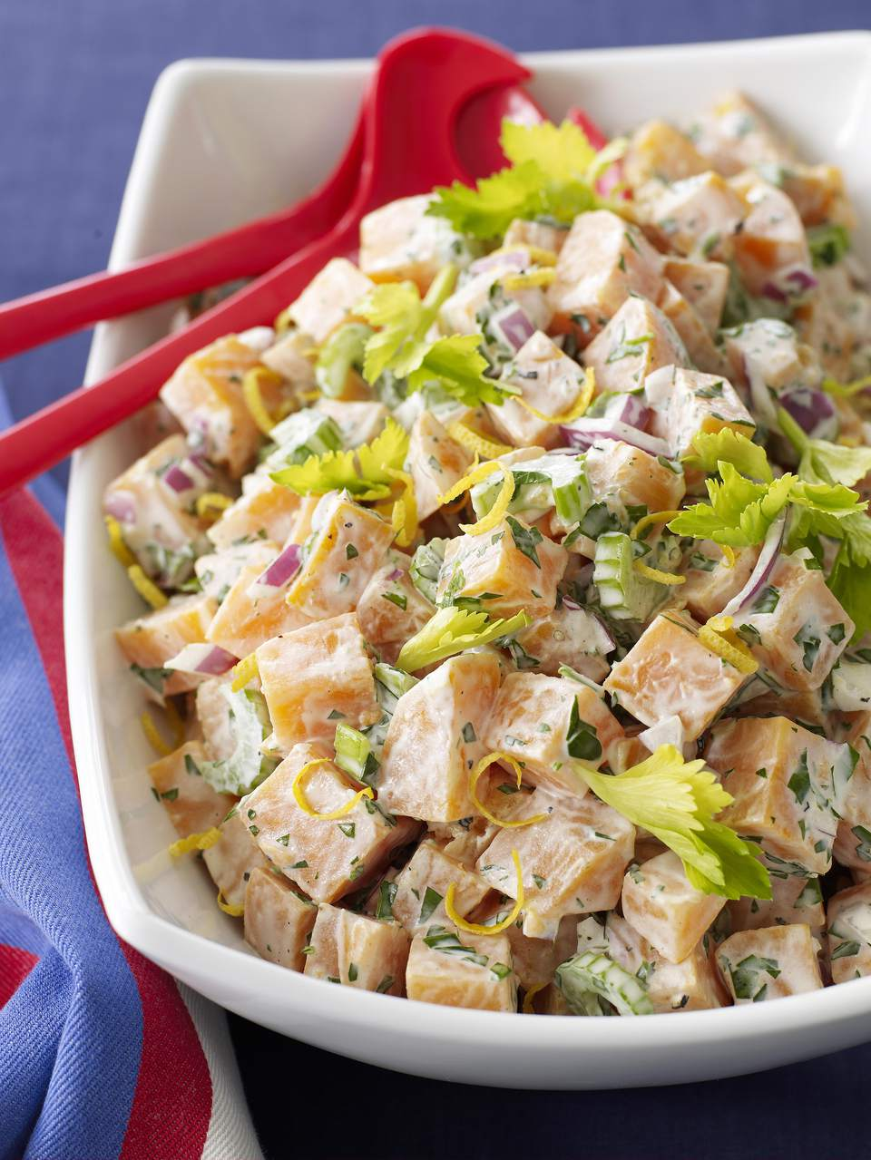 Buttermilk Sweet Potato Salad