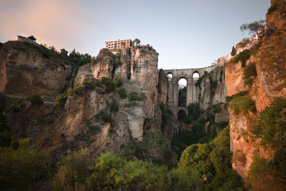 Ronda bridge over the Tajo ravine