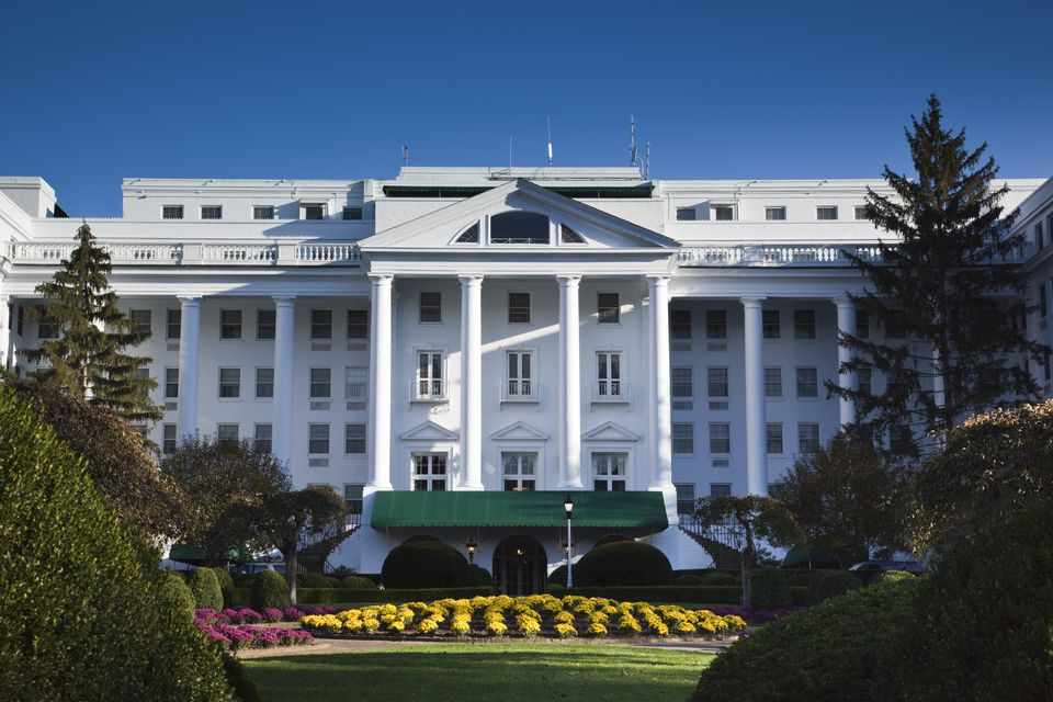 USA, West Virginia, White Sulphur Springs, The Greenbrier Resort