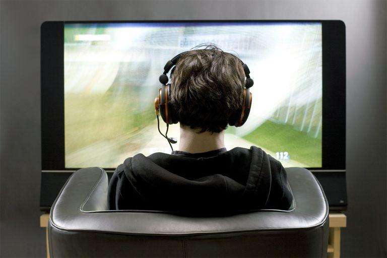 Watching TV With Headphones