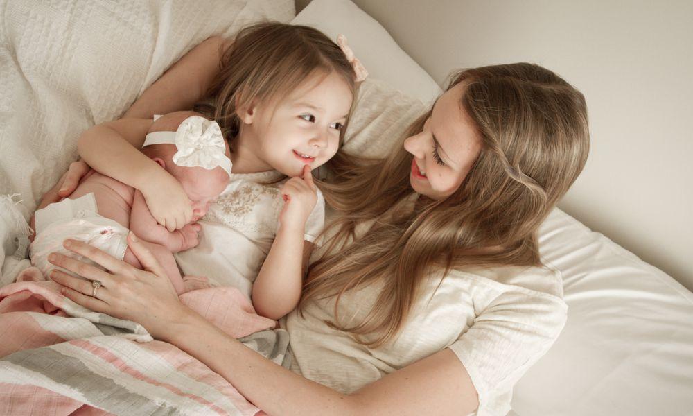 Breastfeeding siblings who aren't twins is called tandem nursing.