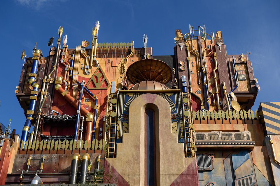 Guardians of the Galaxy Ride at California Adventure