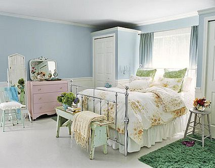 Pastels are Perfect in the Master Bedroom