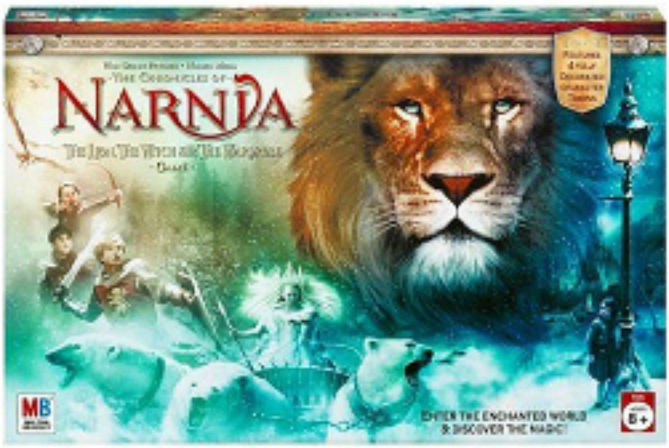 Chronicles of Narnia Board Game Box Cover