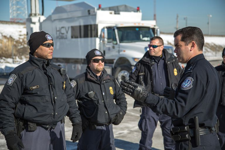U.S. Customs and Border Protection officers