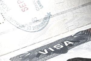 Stamped Visa