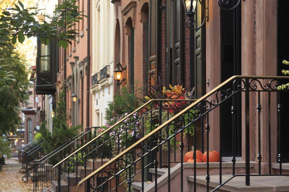 Philadelphia Neighborhood Row Homes