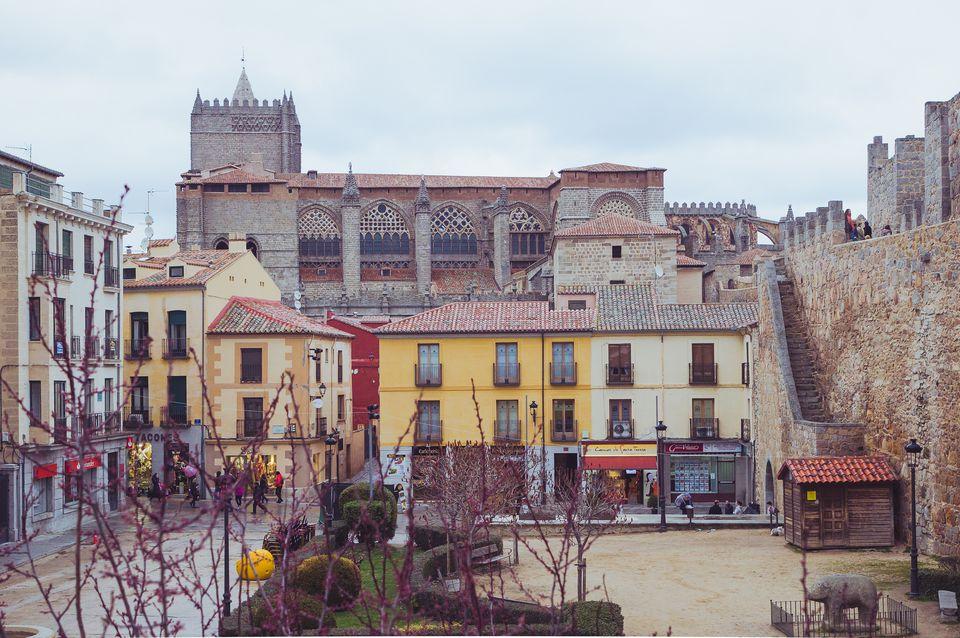 'Adolfo Suárez' square in Avila