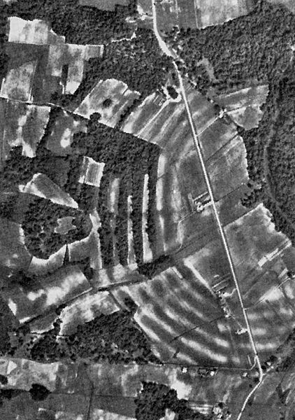 Poverty Point, 1938 Aerial Photo