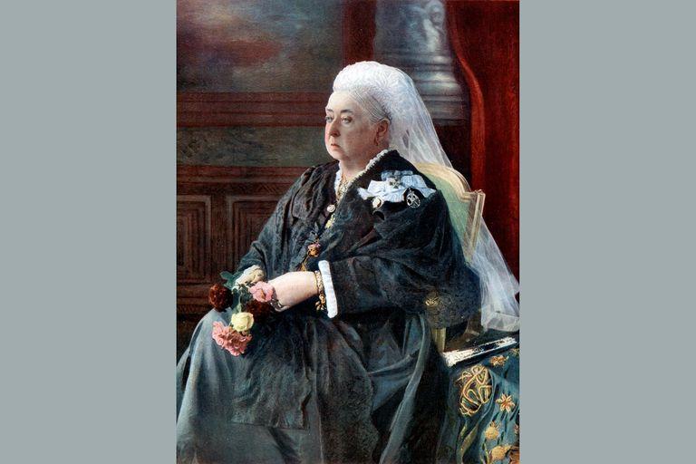 Queen Victoria, late 19th century