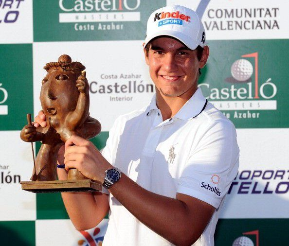Castello Masters unusual golf trophies