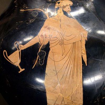 Images of the Greek God of Music and Poetry, Apollo