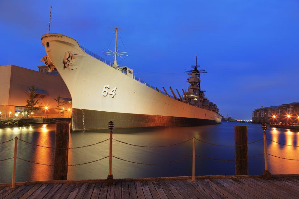 Battleship Wisconsin, Nauticus Museum, Norfolk