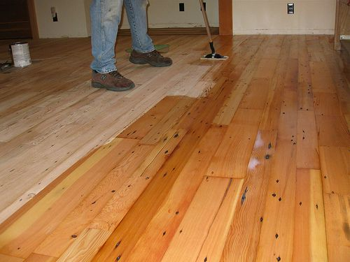 Cost effective green flooring options for Reused wood flooring