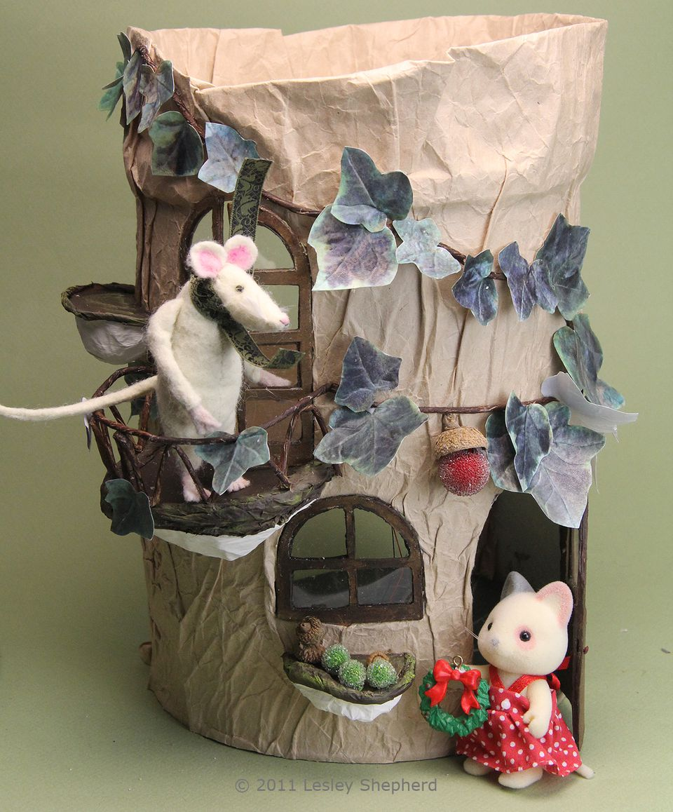 Make A Miniature Woodland Tree House