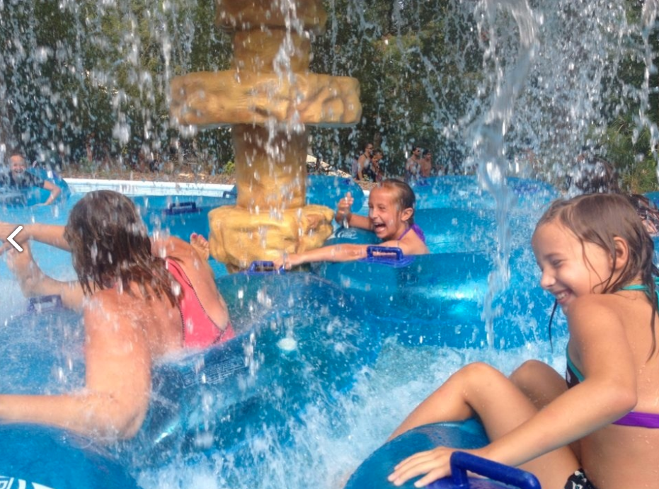 Splish Splash water park in New York.