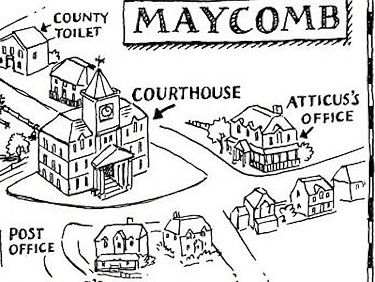 Maycomb Map Project Quotes