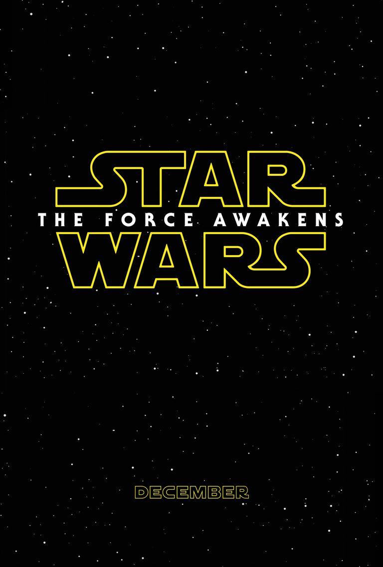 Star Wars: The Force Awakens teaser poster