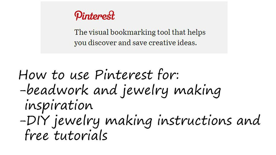 Pinterest for Jewelry Makers
