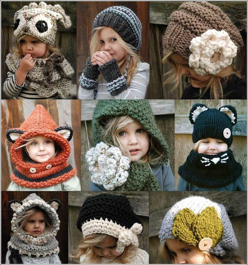 Hood and Hat Crochet Patterns