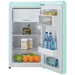 Daewoo Retro 4.4-cu ft Freestanding Compact Refrigerator Freezer